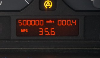 500,000-mile BMW E46 dash